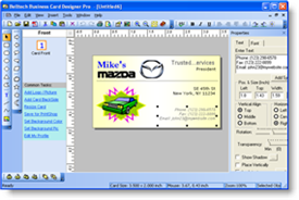 business card software program maker - Business Card Maker Software